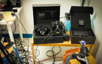 Une salle pour la réalité virtuelle se prépare au LOREM
